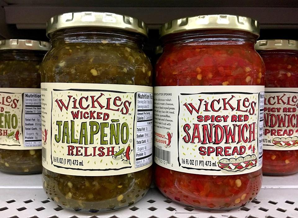 jars of wickles spicy relish