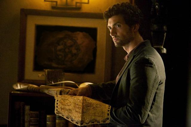 "David Alpay as Professor Shane in ""The Five,"" the fourth episode of ""The Vampire Diaries"" Season 4."