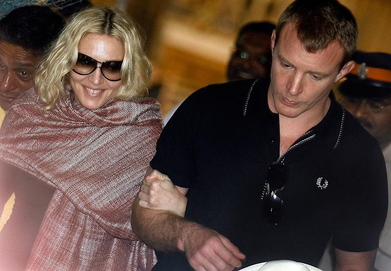 Guy Ritchie received US$75 million in a divorce settlement from ex-wife Madonna. Source: Getty