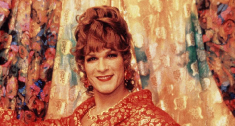 Swayze beat out a bevy of A-list Hollywood stars to land the role of Vida in 'To Wong Foo' (Photo: Universal/courtesy Everett Collection)