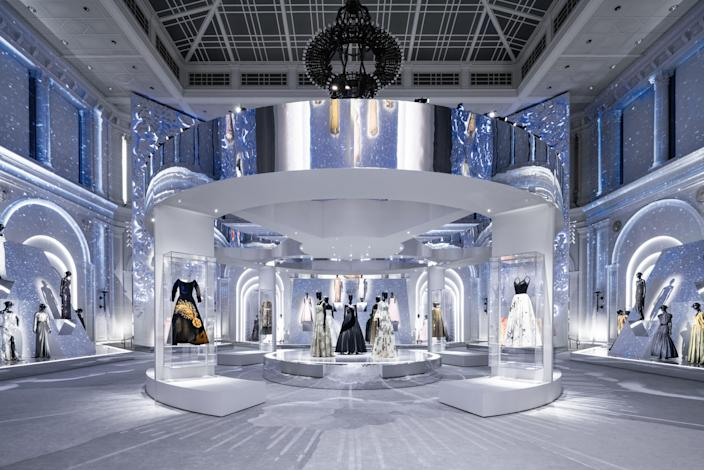 """<p>If you haven't yet been to the Brooklyn Museum, nestled in the borough's Park Slope neighborhood, the arrival of Dior's """"Designer of Dreams"""" exhibition is the perfect excuse to make the trip. In a well-executed timeline of the storied maison's history, the showcase tracks its most memorable designs following the explosion of the brand's New Look era—some of which are being put on display for the first time.</p><p>Now open to the public, the exhibition begins by transporting visitors back to 1947 through an exclusive batch of Christian Dior's first haute couture designs. From there, we see the brand's climb to powerhouse status through photography and its proximity to iconic industry figures like Annie Leibovitz and David LaChapelle. It, of course, wouldn't be a Dior party without mention of all the contributions from Mr. Dior's successors: Yves Saint Laurent, Marc Bohan, Gianfranco Ferré, John Galliano, Raf Simons, and Maria Grazia Chiuri.</p><p>The display touches upon all the things that make the brand so distinctly Dior, like star motifs, a makeshift garden, and monochromatic moments. With sections dedicated entirely to these references, loyal fans will appreciate the showcase's detail, while fashion newbies are in for a sharp history lesson. Ahead is a <a href=""""https://www.youtube.com/watch?v=zx5tAtWPkd0"""" rel=""""nofollow noopener"""" target=""""_blank"""" data-ylk=""""slk:sneak peek"""" class=""""link rapid-noclick-resp"""">sneak peek</a> at what you can expect. For those hoping to make the trip, the exhibition is open until February 20, 2022. <br></p>"""