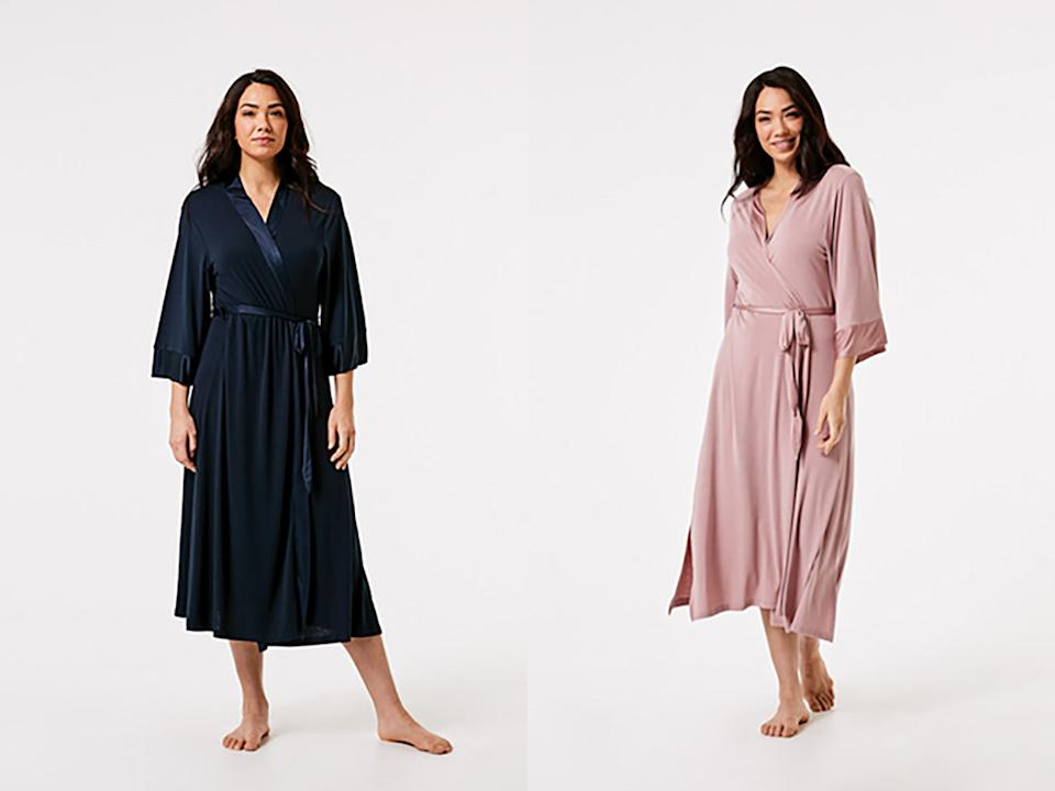A Facebook user has revealed she is going to wear a robe as a kimono with many commenters cheering her on. Photo: Kmart