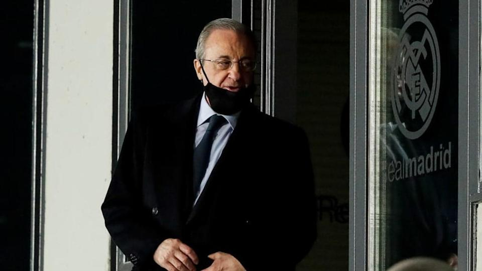 Florentino Pérez, Real Madrid | Soccrates Images/Getty Images