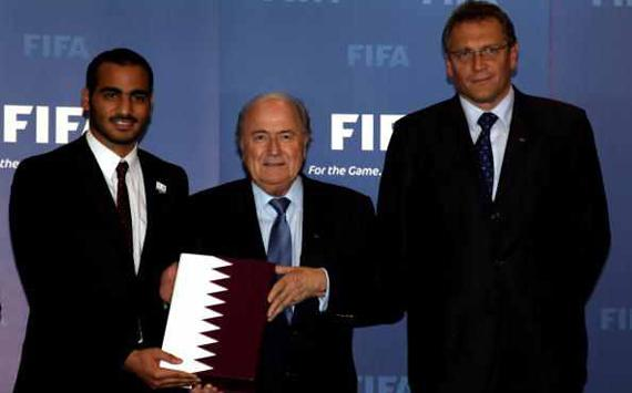 Russia and Qatar deny bribing FIFA officials to secure World Cup hosting rights
