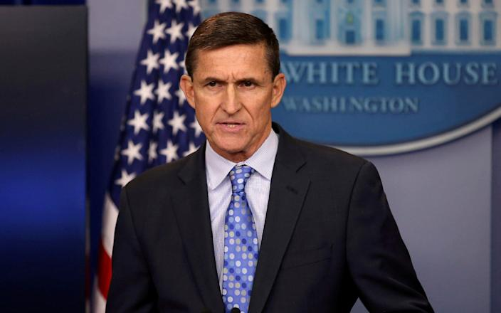 Michael Flynn was Donald Trump's first national security adviser - REUTERS/Carlos Barria/File Photo