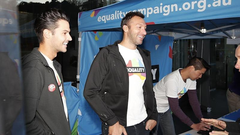 Ian Thorpe has joined a national campaign pushing for same-sex marriage in Australia.