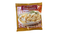<p>These smell and taste heavily of gorgonzola, so if you don't like the cheese, stay away. Otherwise, you'll love it, especially with peas and prosciutto.</p>