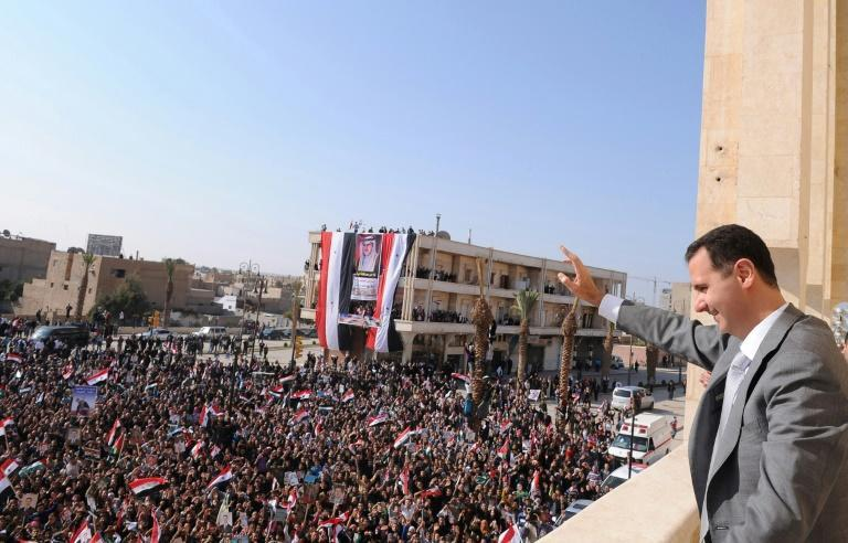 Syrian President Bashar al-Assad weathered the storm, becoming the domino that didn't fall