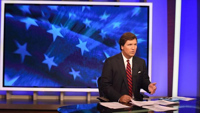 "Tucker Carlson in 2018. <span class=""copyright"">(Jennifer S. Altman / Los Angeles Times)</span>"