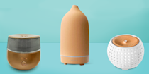 """<p>""""Instead of a candle, use an essential oil diffuser to create a specific vibe in your space,"""" says GH Senior Home Editor Monique Valeris. To relax, try lavender, chamomile or eucalyptus oil. For more focus and energy, peppermint or grapefruit works well. If you need a diffuser, try one from <a href=""""https://www.amazon.com/dp/B01MYXNJES?tag=syn-yahoo-20&ascsubtag=%5Bartid%7C10070.g.36016685%5Bsrc%7Cyahoo-us"""" rel=""""nofollow noopener"""" target=""""_blank"""" data-ylk=""""slk:Vitruvi Stone"""" class=""""link rapid-noclick-resp"""">Vitruvi Stone</a>, a GH Institute Lab favorite.</p>"""