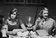<p>Davis is pictured beside her daughter Barbara Sherry (later known as B.D. Hyman) at a party celebrating the 40th anniversary of <em>Time </em>magazine.</p>