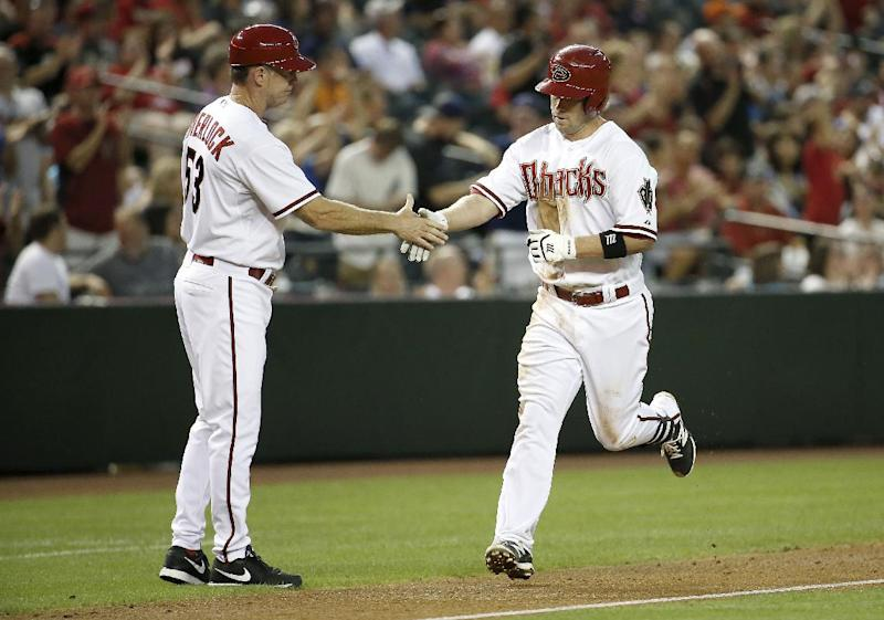 D-backs shut down Reds 4-0