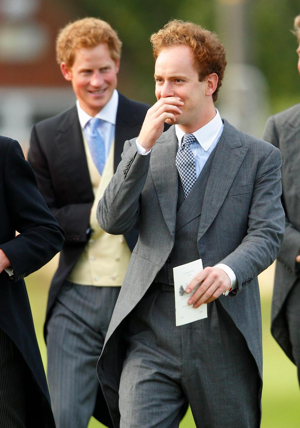 The former Eton schoolmates were reportedly inseparable before the wedding Photo: Getty Images