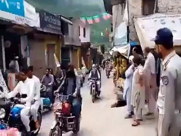Lashkar-e-Taiba (LeT) and Jaish-e-Mohammed terrorists hold homecoming rallies in PoK for their terrorists who had gone to fight alongside the Taliban.