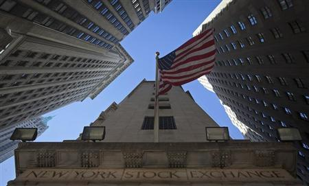 The exterior of the New York Stock Exchange