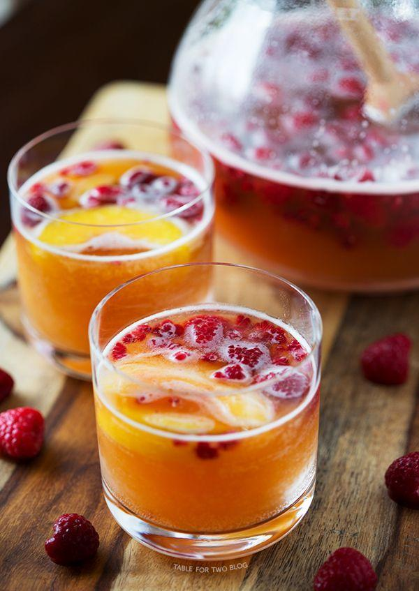 "<p>The sweet-tart combo will become your new fave.</p><p>Get the recipe from <a href=""http://www.tablefortwoblog.com/raspberry-peach-prosecco-punch/#.UwossyhNy0s"" rel=""nofollow noopener"" target=""_blank"" data-ylk=""slk:Table For Two"" class=""link rapid-noclick-resp"">Table For Two</a>.<br></p>"