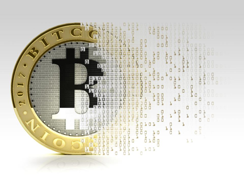 Conceptual illustration representing the bitcoin cryptocurrency. (Photo: Getty Creative)