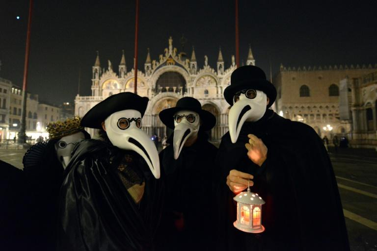 Venice holds a 'Plague Doctors Procession' each year
