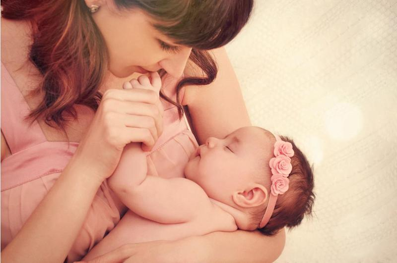 This stock image is what Lauren expected to look and feellike postpartum. Misfire_studio/Shutterstock