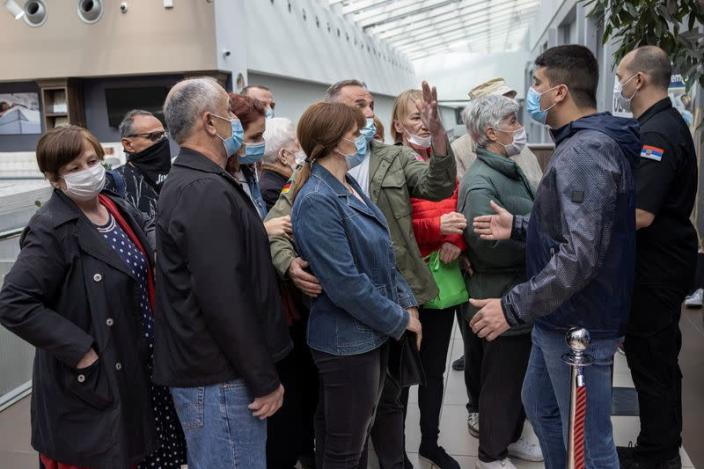 Serbians flock to receive COVID-19 vaccines and discount vouchers
