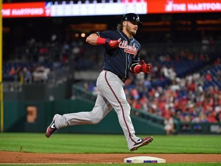 MLB: Atlanta Braves at Philadelphia Phillies