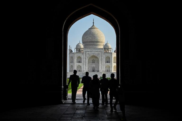 Crowds were thin on the first day of the Taj Mahal's reopening, with authorities restricting visitor numbers to 650 per day
