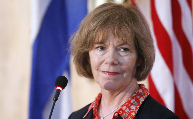 Tina Smith has served as Minnesota's lieutenant governor since 2015.