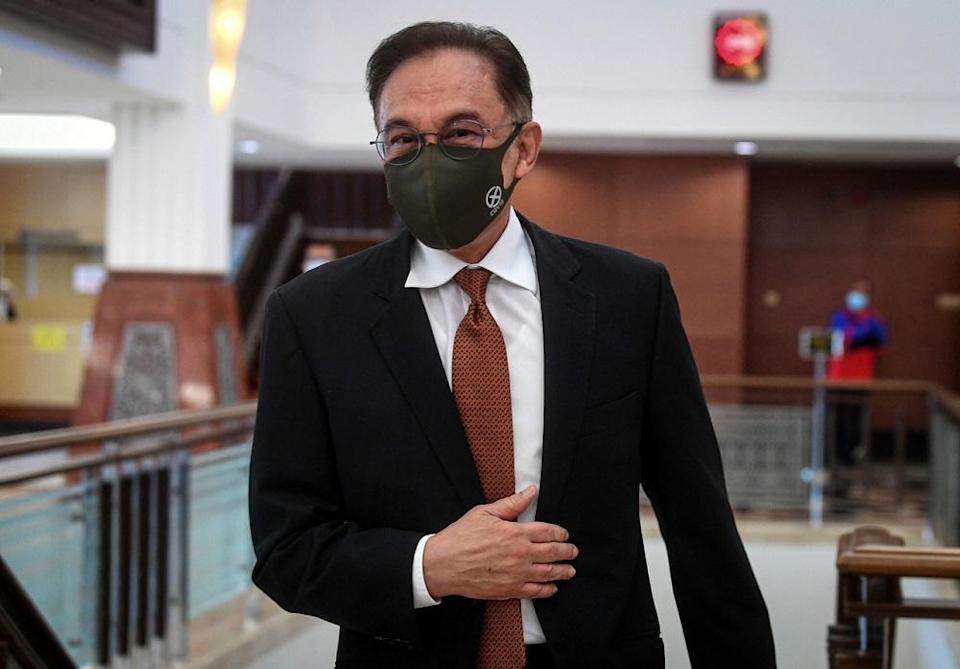 Opposition Leader Datuk Seri Anwar Ibrahim asked why the PMD needed so many ministers and was allocating for special envoys whom he said were unlikely to be effective as international travel would be limited throughout the Covid-19 pandemic. — Bernama pic