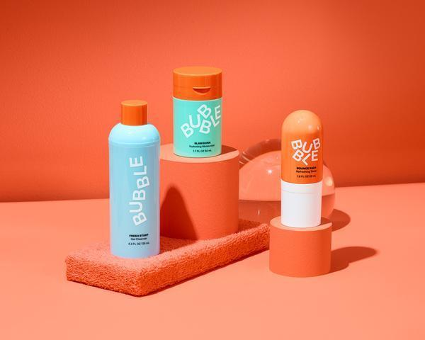 """<h2>Bubble Hydrating Bundle</h2><br>The right hydrating products can turn dry, tired skin into a healthy, supple complexion, even if you have combination or oily skin. The customer reviews for this buzzy hydration lineup from Bubbles note clearer and smoother skin, shrunken pores, and fewer blemishes. Complete with a cleanser, toner, and moisturizer, the colorful set makes your introduction to a simpler regimen less of a chore and more of a part of your daily routine to look forward to.<br><br><strong>Bubble</strong> Hydrating Bundle, $, available at <a href=""""https://hellobubble.com/products/hydrating-bundle-3-step?gclid=Cj0KCQiA3NX_BRDQARIsALA3fIJr9lWyr7eOkU4aWwM1kqF0NkcKDwX_1SAf1dUYLI0K1zIUidMX4iEaAq62EALw_wcB"""" rel=""""nofollow noopener"""" target=""""_blank"""" data-ylk=""""slk:Bubble"""" class=""""link rapid-noclick-resp"""">Bubble</a>"""