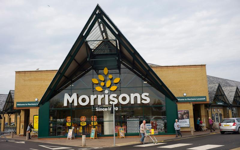 The Morrisons in Lowerstoft where Lady Somerleyton fears she lost her valuable pendant - David Rose
