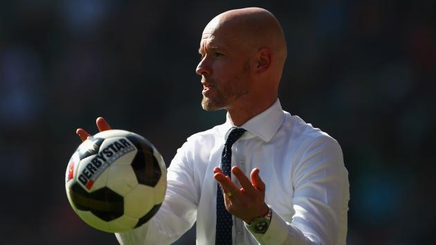 <p>Ajax appoint Erik ten Hag as coach</p>