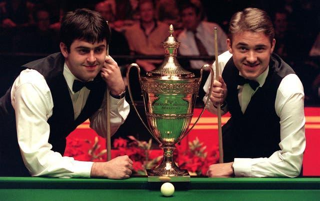 Ronnie O'Sullivan and Stephen Hendry