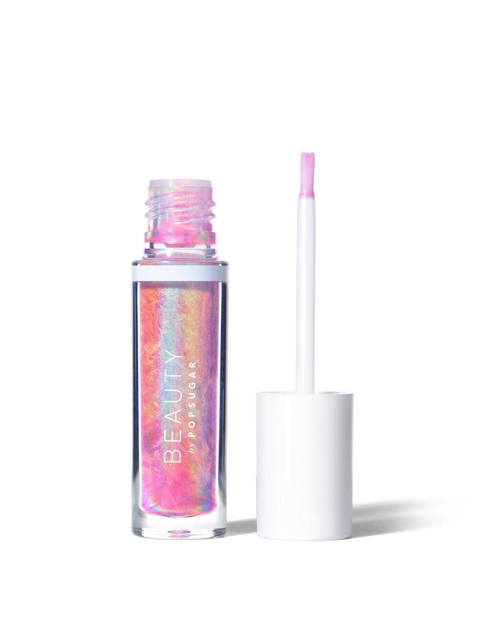 <p>Beauty by POPSUGAR's <span> Be Cosmic Crystal Liquid Lip </span> ($24) is mesmerizing on the outside and so pretty once on the lips.</p>