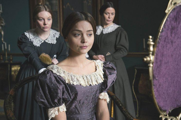 Nell Hudson and Jenna Coleman (Credit: PBS Masterpiece)