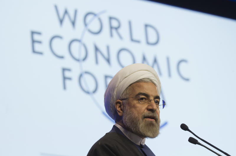 On charm offensive, Iran leader sets lofty goals
