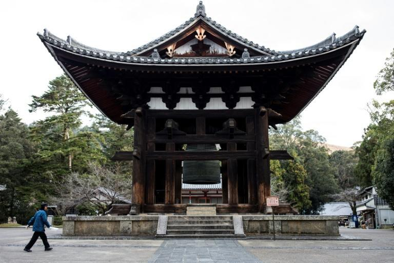 The torch will spend around two days in each prefecture, where it will be carried on various short routes past landmarks like Todaiji Temple in Nara
