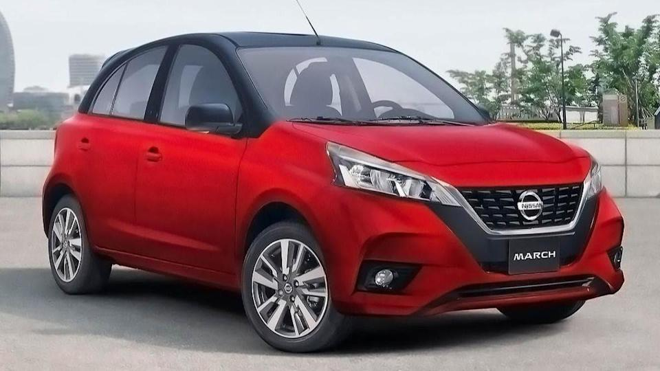 Prior to debut in Mexico, updated Nissan Micra hatchback revealed