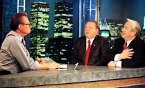 LARRY FLYNT AND JERRY FALWELL AND LARRY KING ON CNN SHOW
