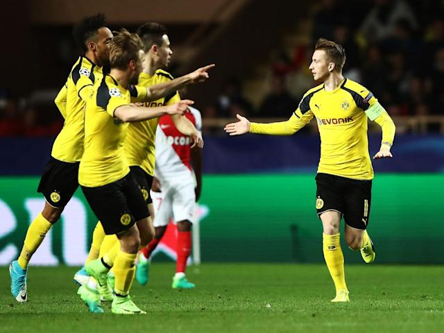 Reus snatched a consolation goal for the visitors (Getty)