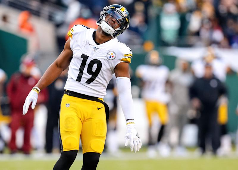 Pittsburgh Steelers Wide Receiver JuJu Smith-Schuster (19)