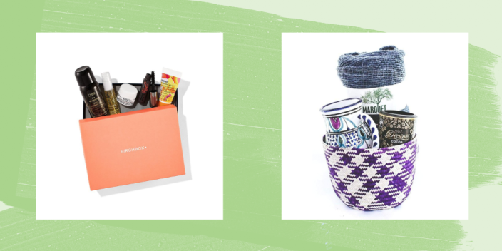 """<p>Mother's Day 2021 is almost here, and we don't know about you, but we've got to find just the right present for her <em>right now</em>. How doe you find the perfect present—a little something that says """"I love you, Mom,"""" without depleting our entire bank account? </p><p>Here, we've got you covered with inexpensive solutions that is extra special: a Mother's Day gift basket! From edible finds to cozy care packages, we've scoured the web to find the absolute best Mother's Day basket ideas and prettily-packaged Mother's Day gifts for you to share with the lady who gave you life this year. Looking for <a href=""""https://www.countryliving.com/shopping/gifts/g25323076/new-mom-gifts/"""" rel=""""nofollow noopener"""" target=""""_blank"""" data-ylk=""""slk:new mom gifts"""" class=""""link rapid-noclick-resp"""">new mom gifts</a> for someone who's just had a baby? We've got you covered with fun, unique boxes and packages offering organic, non-toxic products for moms with young children and new babies—and many of them come put together, so you won't have to do any extra work. Looking instead for <a href=""""https://www.countryliving.com/diy-crafts/g2357/gifts-for-grandma/"""" rel=""""nofollow noopener"""" target=""""_blank"""" data-ylk=""""slk:gifts for grandma"""" class=""""link rapid-noclick-resp"""">gifts for grandma</a> or something simple that can double as <a href=""""https://www.countryliving.com/shopping/gifts/g19598470/gifts-for-mother-in-law/"""" rel=""""nofollow noopener"""" target=""""_blank"""" data-ylk=""""slk:gifts for a mother-in-law"""" class=""""link rapid-noclick-resp"""">gifts for a mother-in-law</a>? We've got you covered there, too: A floral subscription box isn't just a universally-beloved option, it's also a gift that keeps on giving, month after month. </p><p>P.S. Since time is of the essence, make sure to check out our <a href=""""https://www.countryliving.com/shopping/gifts/g19734014/last-minute-mothers-day-gift-ideas/"""" rel=""""nofollow noopener"""" target=""""_blank"""" data-ylk=""""slk:last-minute Mother's Day gift ideas"""" class=""""link rapid-noclick-r"""