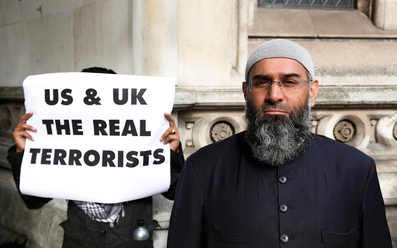 """Britain's most notorious Islamist hate preacher has been transferred to a specialist secure unit amid fears he is radicalising fellow inmates. Anjem Choudary has reportedly become the first known Islamist to be moved to a """"separation centre"""" at HMP Frankland in County Durham. The centres, also known as """"jihadi jails"""", were proposed after a review into prison extremism recommended preachers and terrorists who tried to convert or incite others should be kept separate from mainstream prisoners. Anjem Choudary, protests in support of Islamist cleric Abu Hamza al-Masri, in 2012 Credit: LUKE MACGREGOR/Reuters Choudary was jailed for five years and six months at the Old Bailey in September for drumming up support for Islamic State of Iraq and the Levant (Isil). He was moved to the centre after he refused to stop preaching his extremist views despite being warned by prison authorities, the Sunday Times reported. HMP Frankland is the first of three units to be built. Others will follow at HMP Woodhill, in Milton Keynes, and HMP Full Sutton, in Yorkshire. Between them, the three centres will hold 28 """"of the most subversive offenders,"""" the Ministry of Justice said. Anjem Choudary terrorist network M A spokesman said: """"Some of the most dangerous and radicalised extremists are now being housed in the government's first specialist centre at HMP Frankland - helping stem the flow of radicalisation behind bars and preventing their influence over others. """"Offenders are placed in the specialist centres if they are involved in planning terrorism or are considered to pose a risk to national security. """"Those seeking to influence others to commit terrorist crimes, or whose extremist views are purposely undermining good order and security in the prison estate, may also be placed in the centre."""" The Ministry of Justice refused to identify prisoners in Frankland's separation centre. There are currently more than 130 convicted Islamist terrorists in UK jails, with numbers having risen sharply"""