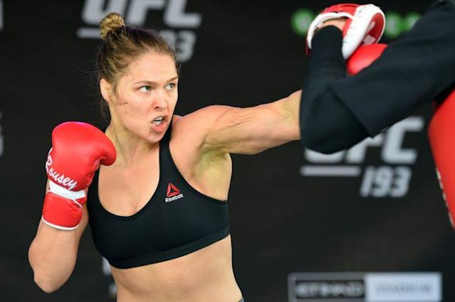 Dana White says Ronda Rousey is the biggest star in UFC history. (Getty Images)