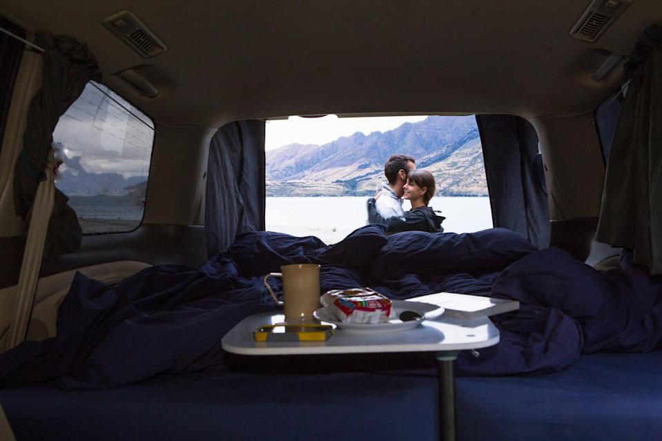 <p>You don't need an official dance floor for this one! Take a drive out to a romantic spot and dance with each other under the stars. You can either dance in the quiet or turn on your own playlist.</p>