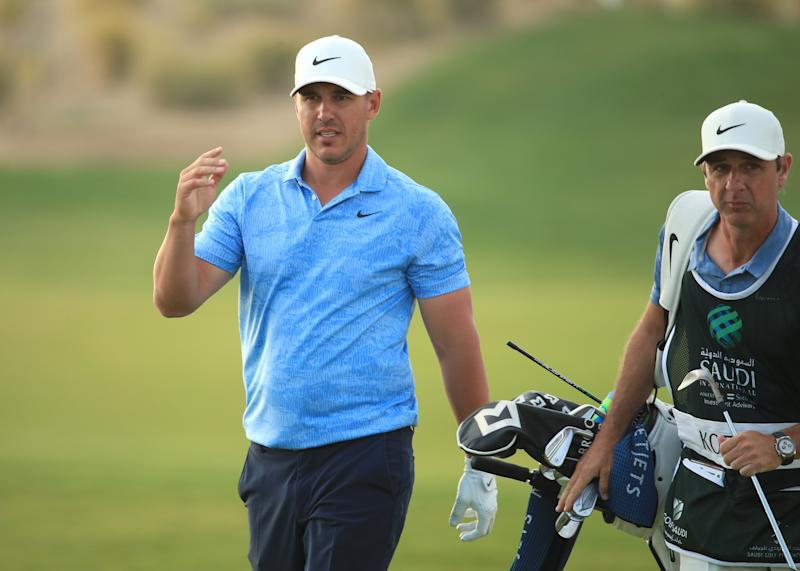 Don't expect to hear from Brooks Koepka while he's on the course. (Andrew Redington/WME IMG/WME IMG via Getty Images )