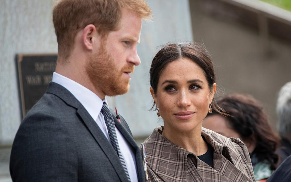Meghan wrote of Harry's pain over the miscarriage she suffered - Getty