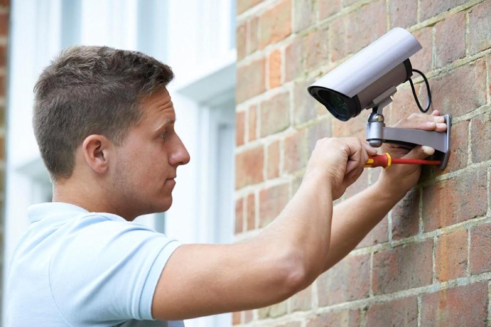 """""""Excessive surveillance cameras give the home a creepy feel,"""" cautions realtor <strong>Benjamin Ross</strong>, an investment specialist with <a href=""""https://myactiveagent.com/information-about-brokerage-services/"""" rel=""""nofollow noopener"""" target=""""_blank"""" data-ylk=""""slk:Mission Real Estate Group"""" class=""""link rapid-noclick-resp"""">Mission Real Estate Group</a> in Austin, Texas. """"People want to buy a home, not a commercial facility."""""""