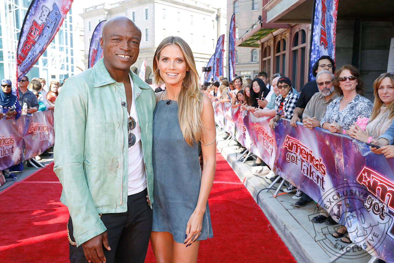 "<p>From co-parenting to co-working, friendly exes Heidi Klum and Seal just proved they <a rel=""nofollow"">can do it all together</a>. The two were all smiles as they posed side by side on the <em>America's Got Talent</em> red carpet and reunited at the judge's table alongside Simon Cowell, Mel B and Howie Mandel during the final round of Judge Cuts.</p>"