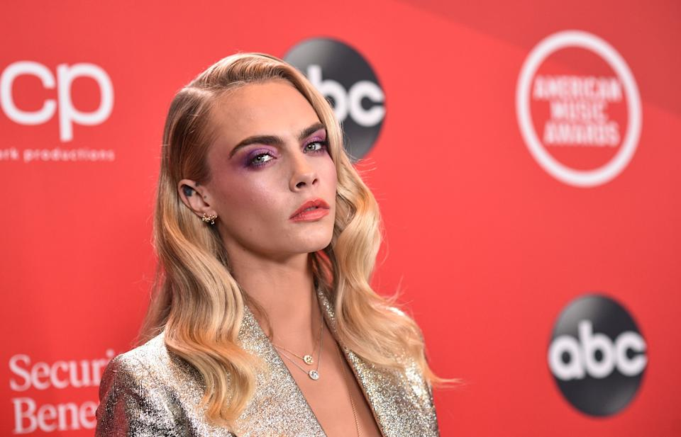 Cara Delevingne has opened up about her mental health struggles. (ABC via Getty Images)