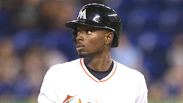 Former Marlins second baseman Dee Gordon is hoping former teammates like Christian Yelich will be traded out of Miami like he was. (AP)